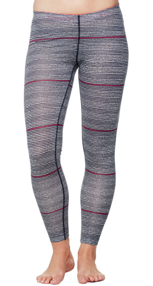 Icebreaker Sprite Leggings Women Impulse admiral/snow/pop pink